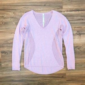 Lululemon Atheltica Still Movement Sweater Pink 2